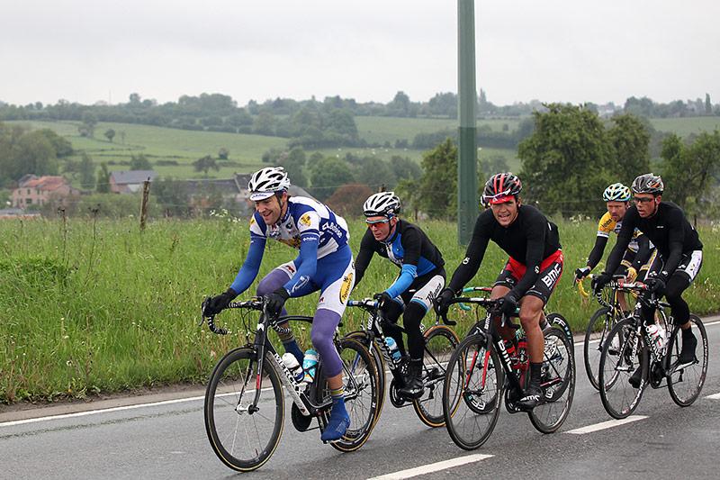 Belgium Tour stage 5, leading group