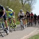 Photo Amstel Gold Race 2015, peloton with Kwiatkowski