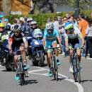 Photo Amstel Gold Race 2015, Tanner, Nibali and Clarke