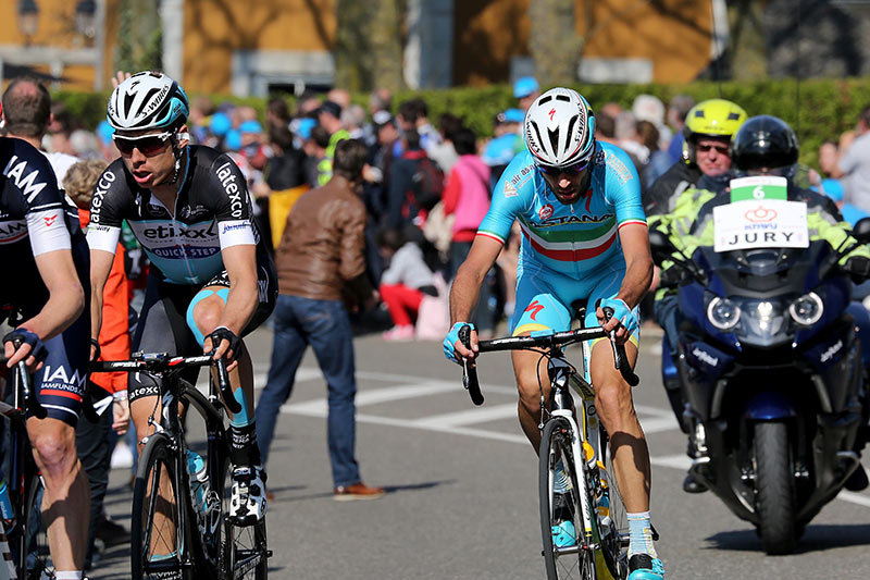 Photo Amstel Gold Race 2015, Martin and Nibali
