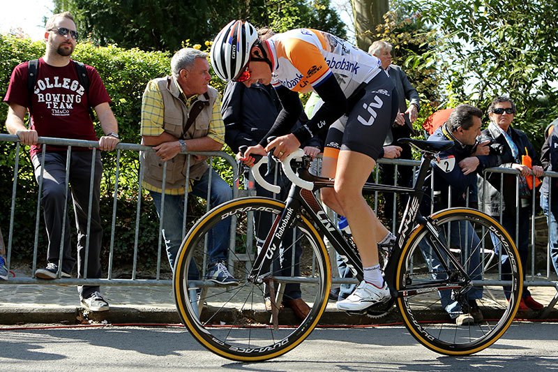 Photo Fleche Wallonne femmes 2015 - Lucinda Brand