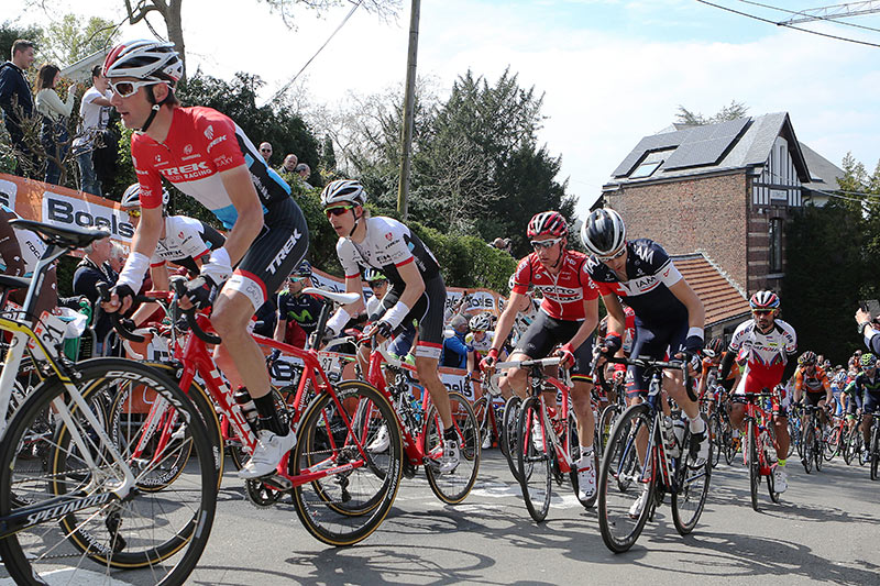Photo Fleche Wallonne 2015, Frank Schleck and Bauke Mollema
