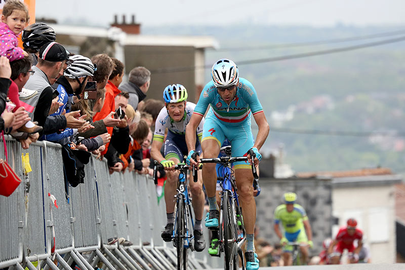 Photo Liege - Bastogne - Liege 2015, Nibali and Weening