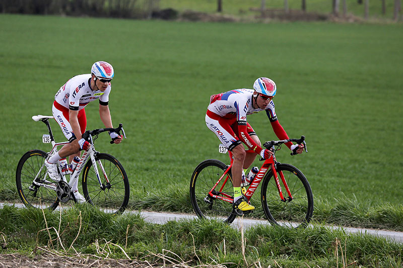 Photo RVV 2015, Sven Erik Bystrom and Alexander Porsev