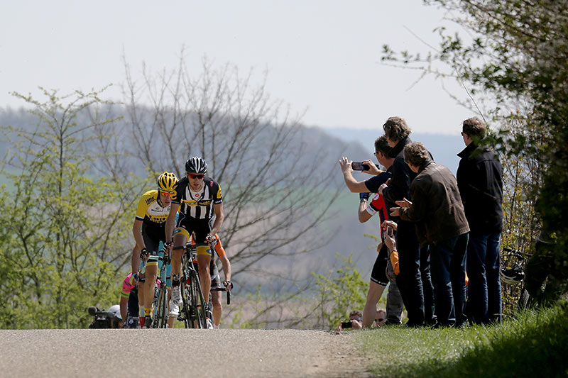 Photo Amstel Gold Race 2015, Scheumerweg with Johann Van Zyl