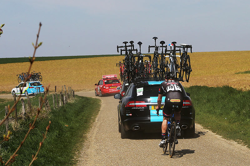 Photo Amstel Gold Race 2015, Zico Waeytens coming back