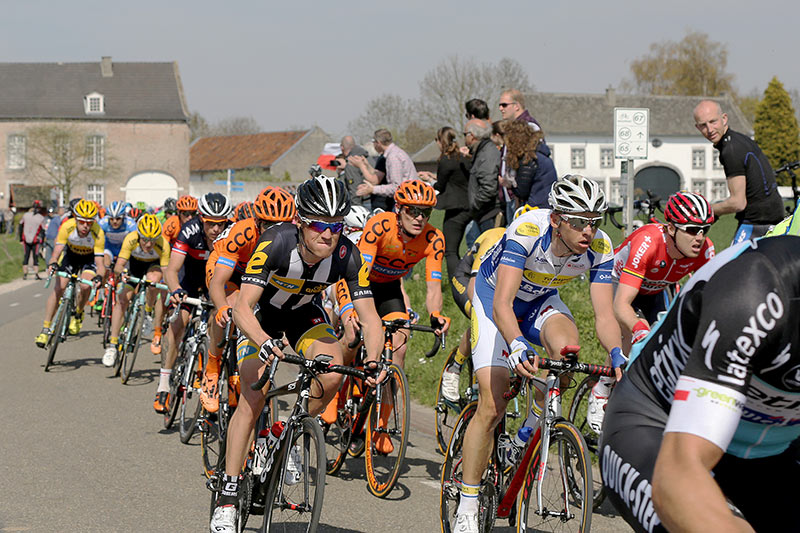 Photo Amstel Gold Race 2015, Pauwels and Naesen