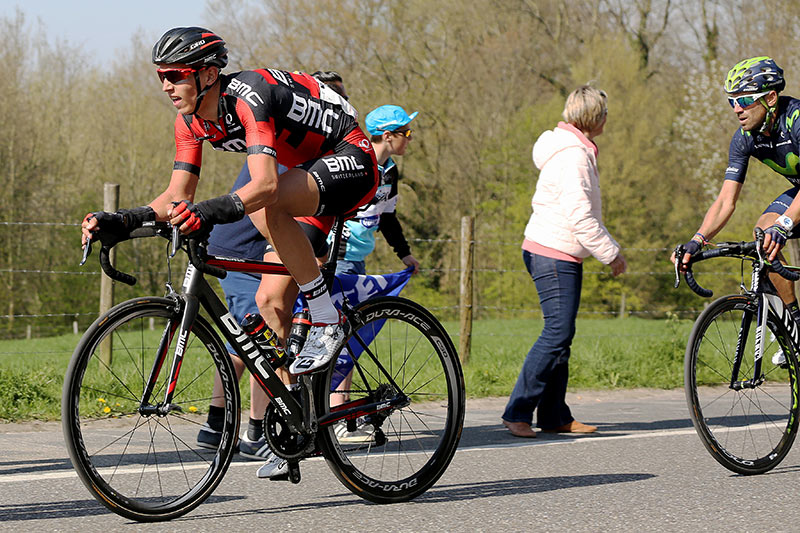 Photo Amstel Gold Race 2015, Dylan Teuns and Valverde
