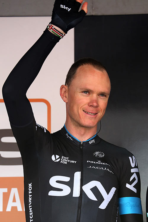 Photo Flèche Wallonne Waremme 2015, Christopher Froome