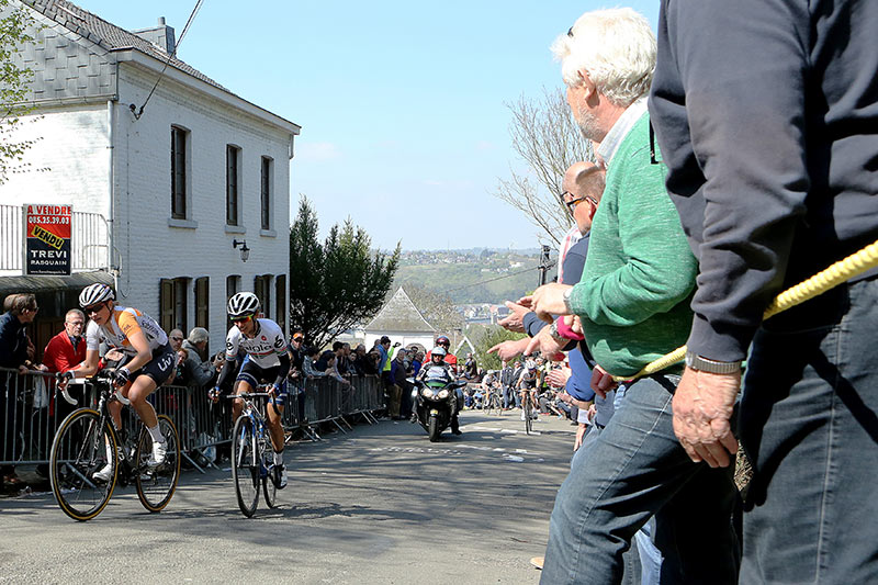 Photo Fleche Wallonne femmes 2015 - Kneteman and Moolman