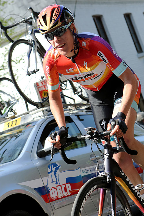 Photo Fleche Wallonne femmes 2015 - Ellen Van Dijk