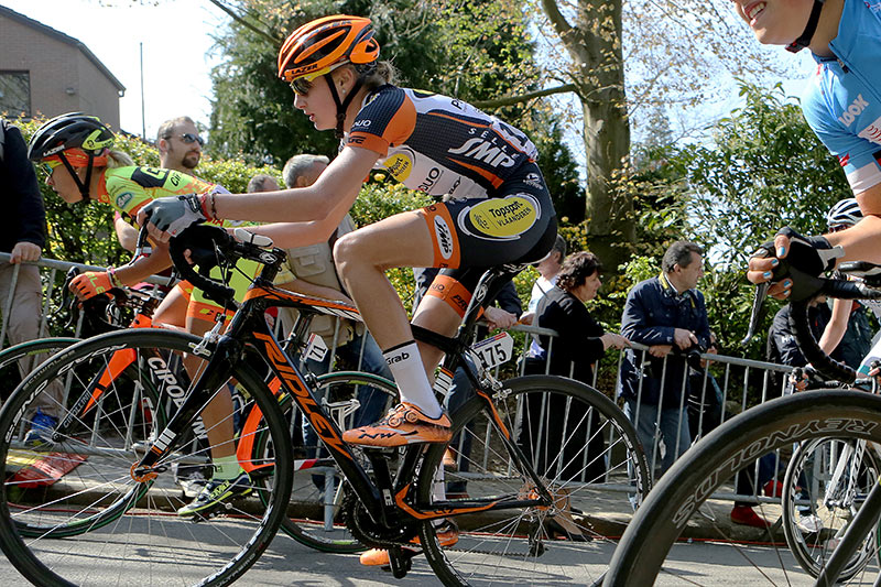 Photo Fleche Wallonne femmes 2015 - Kelly Van Den Steen