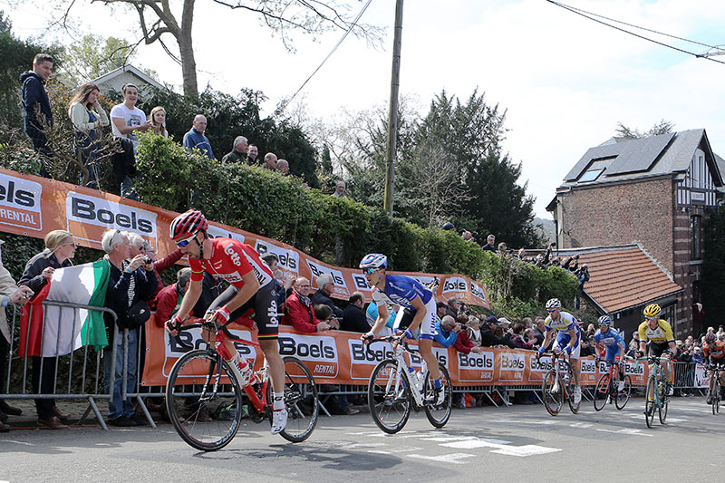 Photo Fleche Wallonne 2015, the escape