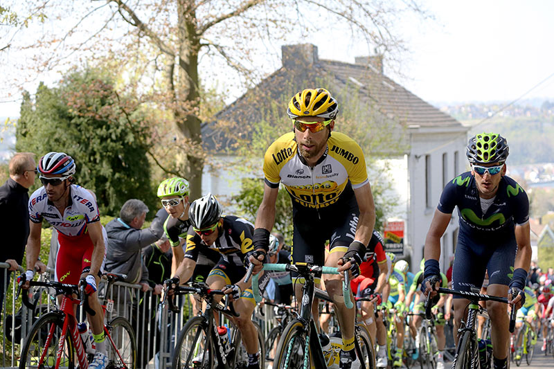 Photo Fleche Wallonne 2015, Laurens Ten Dam