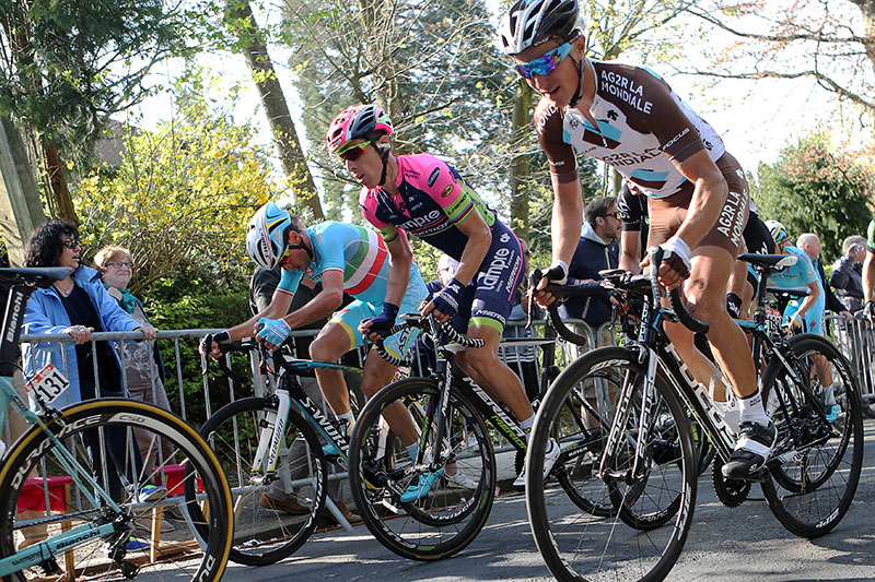 Photo Fleche Wallonne 2015, Nibali, Rui Costa, Nocentini