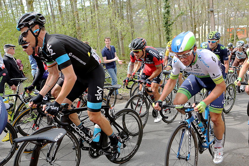 Photo Liege - Bastogne - Liege 2015, Roche & Gilbert